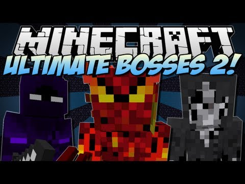 Minecraft | ULTIMATE BOSSES 2! (Bosscraft!) | Mod Showcase [1.6.2]