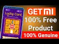 Mi 100% free product purchase check your luck and get free MI product