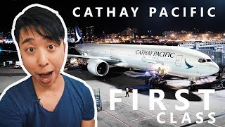 WOW! Cathay Pacific First Class | Hong Kong to Vancouver