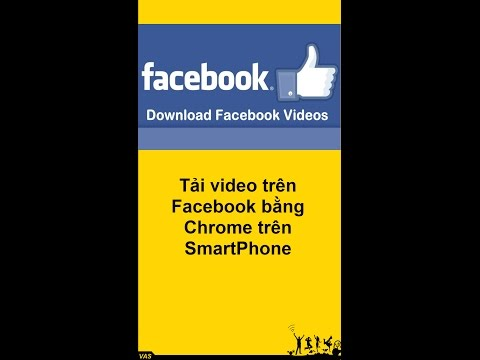 Download videos from facebook with Chrome
