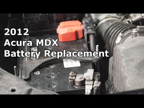 2012 Acura MDX Battery Replacement - The Battery Shop