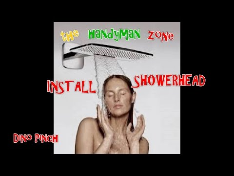 Remove & Install any Shower Head