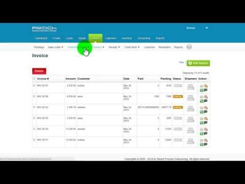 How to create Proforma Invoice using Reach Accounting software