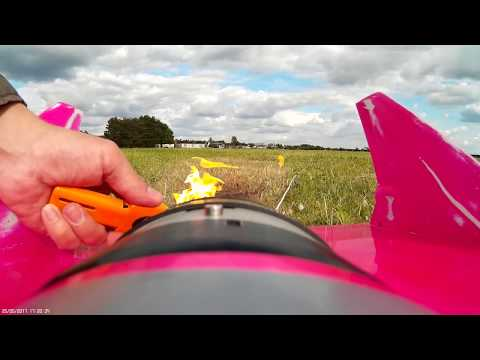 on board the fastest RC-Jet ever