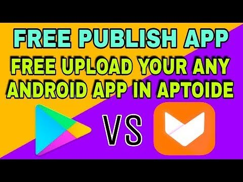 How to free publish your app ||Aptoide store free || any android upload aptoide