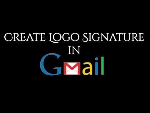 Video : How to add an image or logo in Gmail Signature