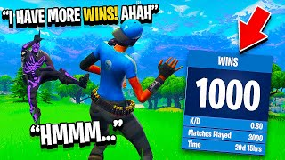 I EXPOSED My Random Duos Stats in Fortnite for 24 Hours