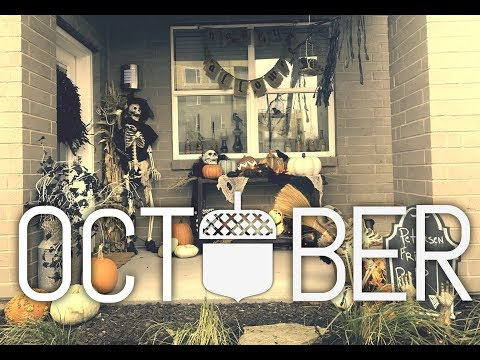 2017 Halloween outdoor Decor Walk-thru! Tips on DIY decorating!