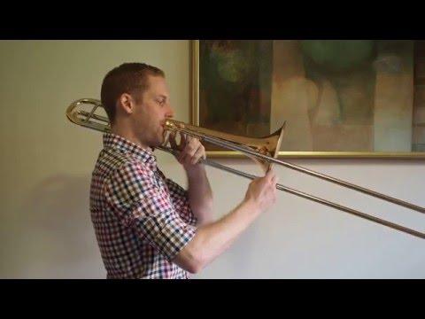 A Flat Major Scale  - Trombone
