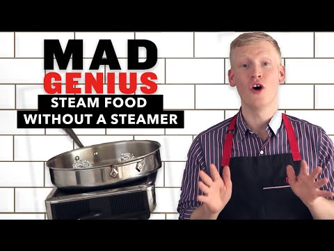 How to Steam Food Without a Steamer | Mad Genius Tips | Food & Wine