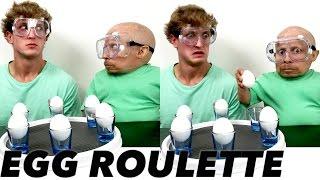 Egg Roulette Challenge: Verne Troyer vs Logan Paul