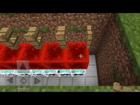 How To Build A Beacon Door In Minecraft PE | Redstone Tutorial #1 |