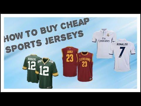 How to Buy Cheap Sports Jerseys
