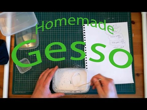 Make Your own GESSO!
