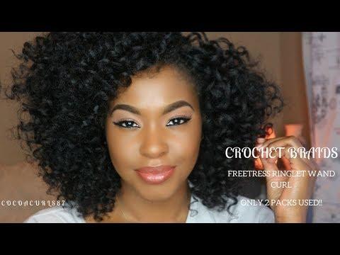 Crochet Braids || Freetress Ringlet Wand || AwEsOmE cUrLs || Divatress.com