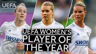 BRONZE, HEGERBERG, HENRY: UEFA Women's Player Of The Year 2018/19 SHORTLIST