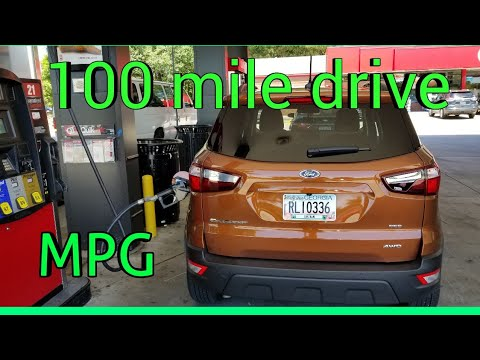 How Eco is the 2018 2.0 Ecosport SES ? 100 mile MPG test