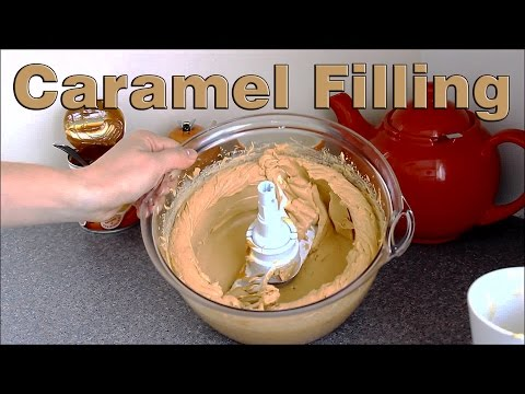 How to Make a Caramel Flavour Cake Filling | HappyFoods