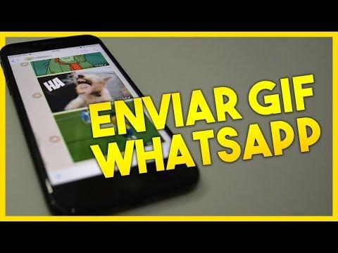 Como enviar GIFS ANIMADOS no WhatsApp do iPhone