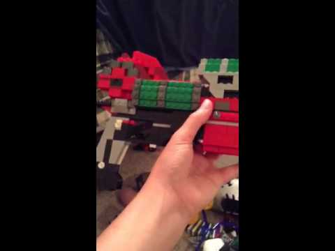 Lego raygun mark 2 (almost done)