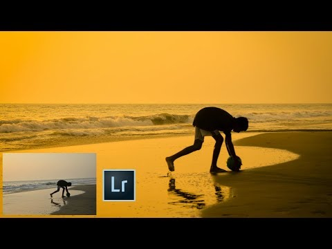 How to Create Sunset Effect in Lightroom