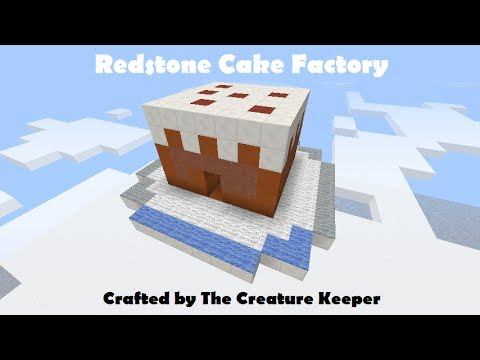 Minecraft Redstone Cake Factory