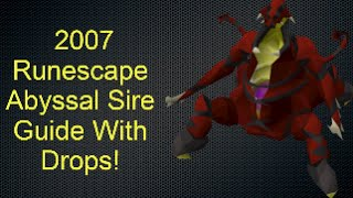 osrs abyssal sire