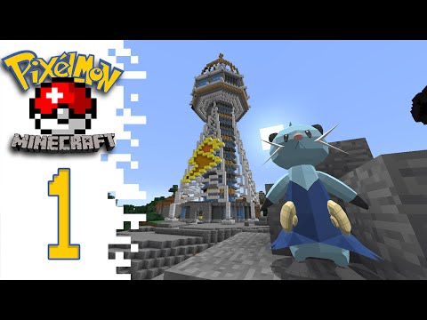Minecraft Pixelmon (Public Server) - EP01 - Play With Me!