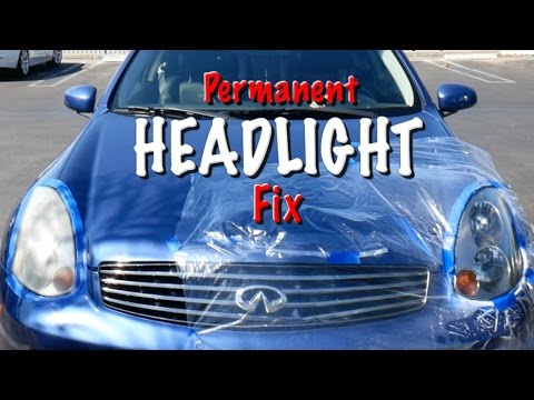 How to Fix Foggy Headlights PERMANENTLY |ChrisFix Method|