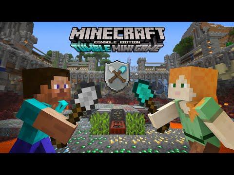 Minecraft Xbox Tumble Minigame - Shovels And Snowballs #1