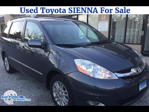 Used Toyota Sienna For Sale in USA, Car Shipping to Nigeria