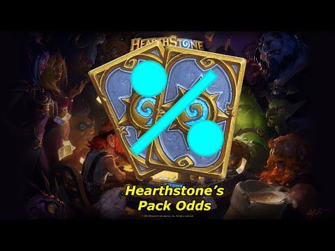 Hearthstone Pack Odds - How rare is 5 legendaries?