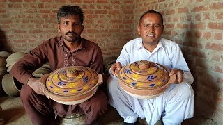 Download Mitti Ki Karahi | Making a Pottery Cooking Pot on the wheel | Clay Pots | Village Food Secrets Video