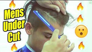 UNDER CUT ✂ Comb Over | Scissor Work | Razor Line Up | Tutorial | Corte de pelo | Barber Vidz
