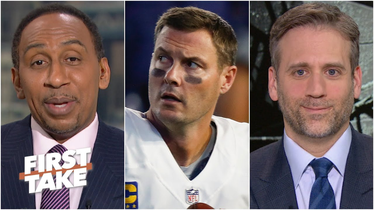 Stephen A. & Max debate if Philip Rivers is a Hall of Famer | First Take