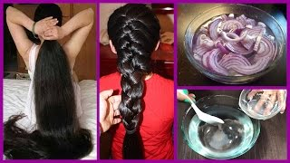 How to Grow Long Thicken Hair with Onion  - World