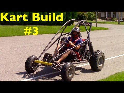 Go-Kart Build Episode #3 (Front Suspension)