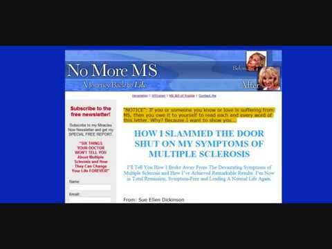 No More Multiple Sclerosis, Sue Ellen Dickinson ex Multiple Sclerosis Sufferer,