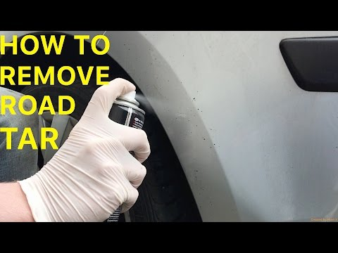 How To Remove Road Tar Spots from your Car &