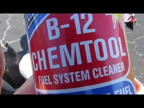 Easy way to clean your scooter fuel system and carburetor