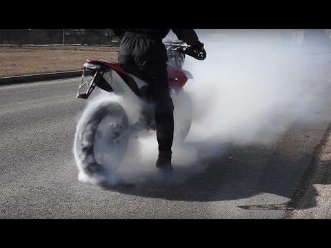 DIY Electric bike conversion supermoto 28Kw
