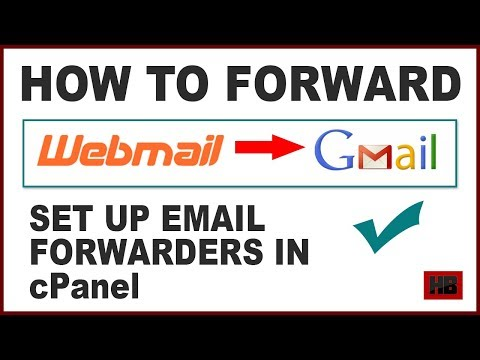 How to Forward Webmail to Gmail | How to set up email forwarding in Webmail | email forwarder cPanel