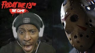 SCREAMING LIKE A TEENAGER! || Friday the 13th The Game Online  Multiplayer