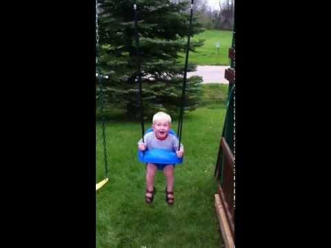 Eli swinging