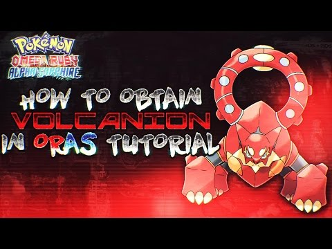 How To Get Volcanion in Pokemon Omega Ruby & Alpha Sapphire Tutorial Guide!
