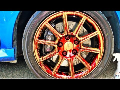 Extremely Clean Rims? How? - Clutched Product Review of the Sonax Wheel Cleaner