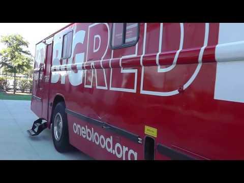 Universal OneBlood Blood Drive