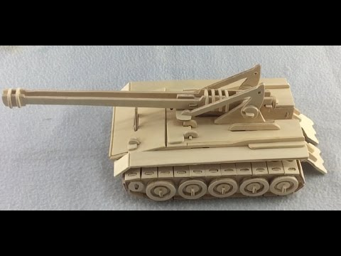 How to make  a wooden Tank