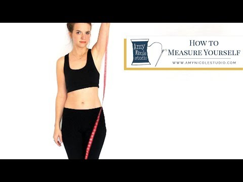 How to Measure Yourself for Sewing with Patterns