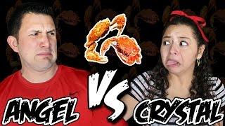 Angel VS Crystal - Crabby Challenge!